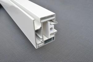 aluminium zijgeleider met kunststof geleider